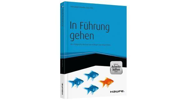 """Hans-Jürgen Resetka, Jörg Felfe: """"In Führung gehen - Der erfolgreiche Wechsel vom Kollegen zum Vorgesetzten""""."""