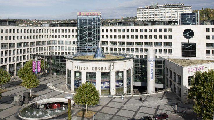 Die L-Bank - hier die Zentrale in Stuttgart - hat ihre IT-Landschaft mittels agiler Methoden transformiert.
