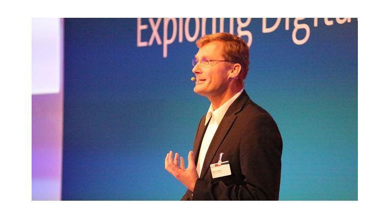 Markus Müller, Deutsche-Telekom-CIO, sprach über den Umstieg auf IP-Telefonie.
