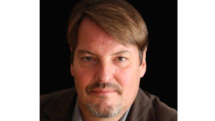 Prof. Dr. Michael Müller von der Hochschule der Medien in Stuttgart.