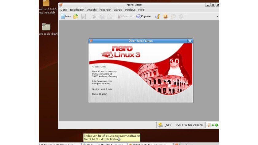 Bereit zum Test: Das neue Nero für Linux geht in die Beta-Phase