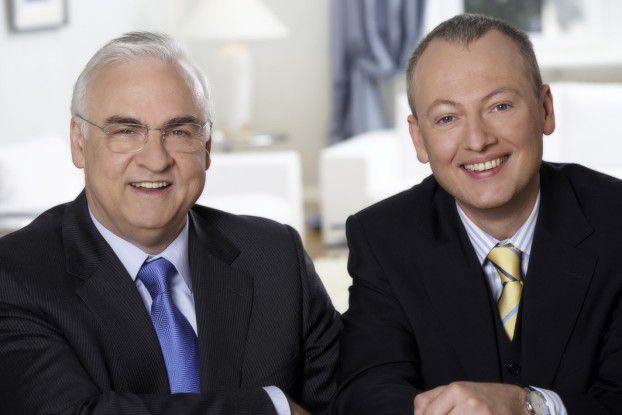Hans Rainer Vogel und Daniel Detambel: 'Beherzte Anrufer haben bessere Chancen.'