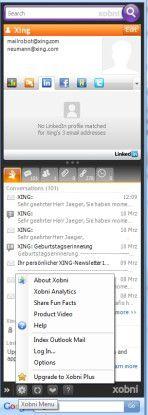 Outlook-Plug-in Xobni