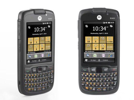 Bei Business-Geräten wie dem neu vorgestellten Motorola ES400 liegt die Priorität bei Eigenschaften wie Sicherheit und Verwaltbarkeit. Foto: Motorola