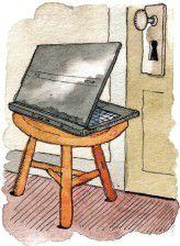 Webcam-Spionage Illustration: Barry Blitt