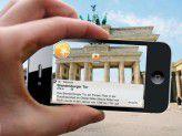 """Die """"Augmented Reality"""" gibt es schon jetzt auf vielen Smartphones. Die Technik hat noch Lücken - wie wird es 2030 sein?"""