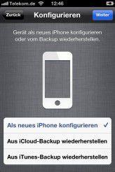 Daten auf dem iPhone vollständig löschen