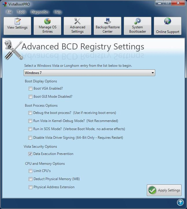 Disable Driver Signing in x64 Windows Vista