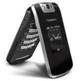 Ebenfalls ab Herbst auf dem Markt: das Pearl Flip 8220, der erste Blackberry zum Klappen.
