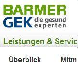 Das neue Portal der Barmer GEK bezieht aktiv die Mitglieder mit ein.