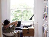 Zuhause kann man auch mal in Ruhe über Dinge nachdenken.