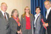 Offizielle Vorstellung von TeBiKom mit NRW-Gesundheitsministerin Barbara Steffens (2. v. r.) Mitte Oktober 2012.