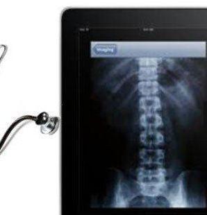iPads plus medizinische Apps ergänzen klassische Untersuchungsmethoden.