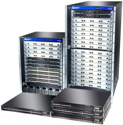 Die EX-Switches: Allemal gut für hohe Bandbreite und den Kampf gegen Cisco.