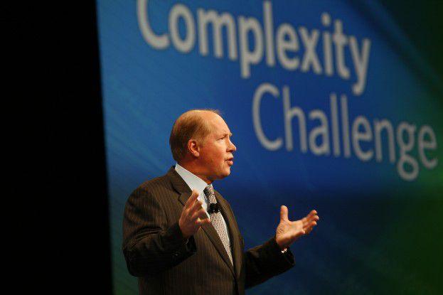 SaaS als Chance in wirtschaftlich schwierigen Zeiten: John Swainson wirbt für CAs neue Produktpalette.