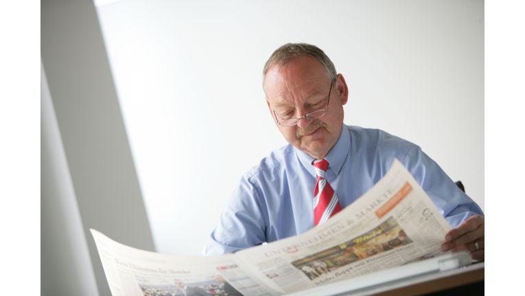 Hat bald mehr Zeit zum Zeitung lesen: Bern Puschendorf verlässt QSC zum 1. Februar 2009.