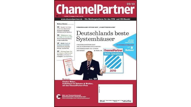 Titelseite der ChannelPartner-Ausgabe 20/10