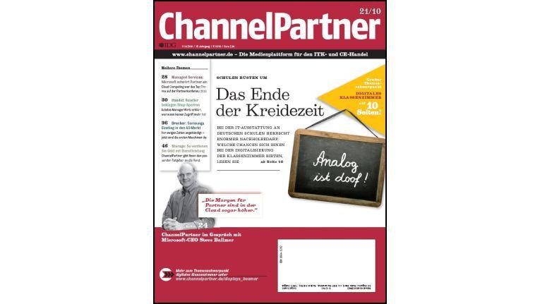 Titelseite der ChannelPartner-Ausgabe 21/10