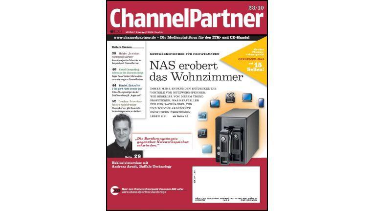 Titelseite der ChannelPartner-Ausgabe 23/10
