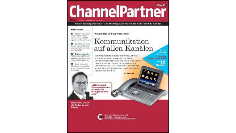 Titelseite der ChannelPartner-Ausgabe 25/10