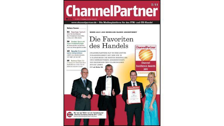 Titelseite der ChannelPartner-Ausgabe 2/11