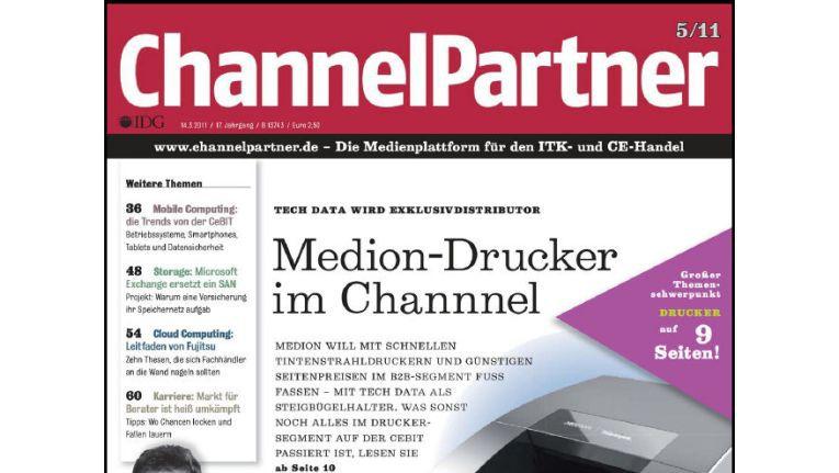 Titelseite der ChannelPartner-Ausgabe 5/11