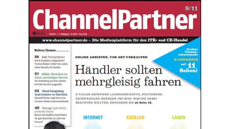 Titelseite der ChannelPartner-Ausgabe 9/11