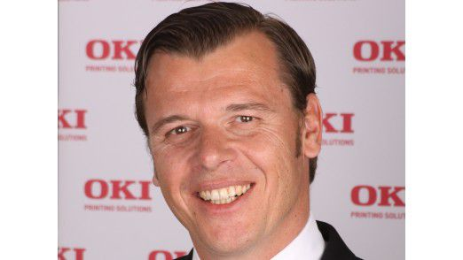 Olaf Sepold, Director Sales & Marketing bei OKI