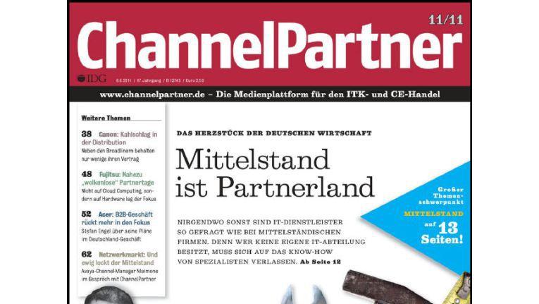 Titelseite der ChannelPartner-Ausgabe 11/11