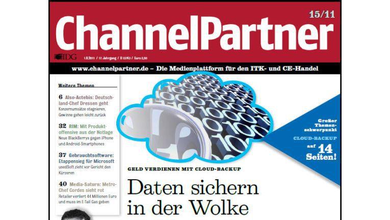 Titelseite der ChannelPartner-Ausgabe 15/11