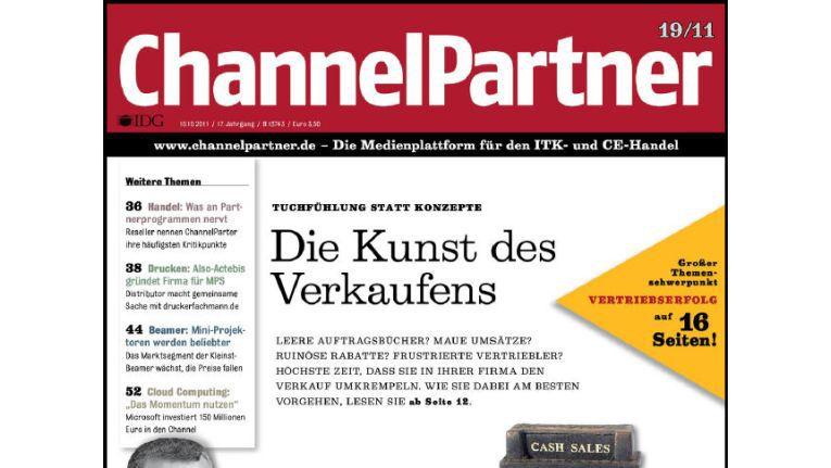 Titelseite der ChannelPartner-Ausgabe 19/11