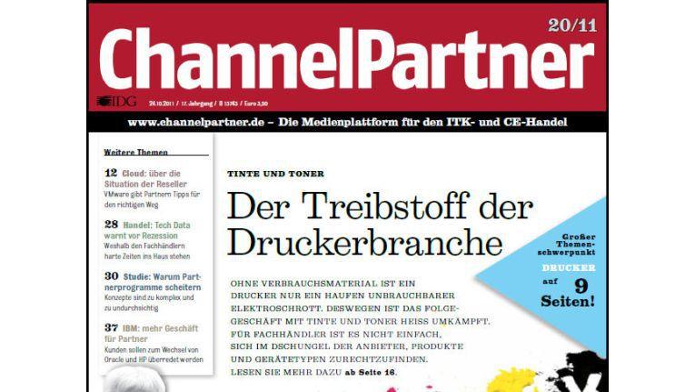 Titelseite der ChannelPartner-Ausgabe 20/11