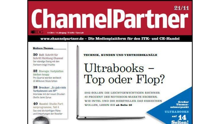Titelseite der ChannelPartner-Ausgabe 21/11