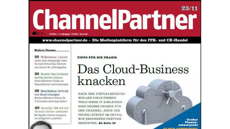 Titelseite der ChannelPartner-Ausgabe 23/11