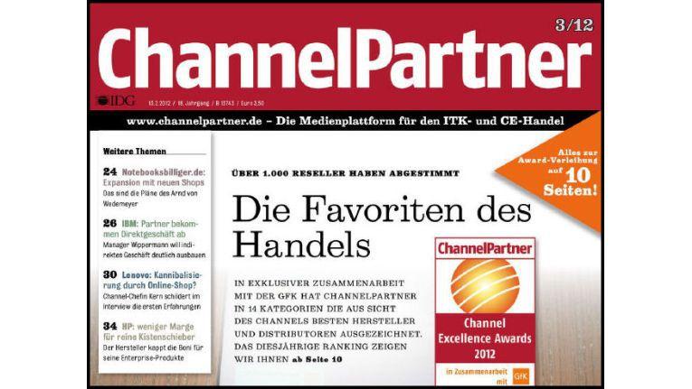 Titelseite der ChannelPartner-Ausgabe 3/12