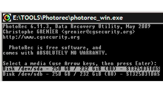 Mit Photorec stellen Sie gelöschte Dateien wieder her.