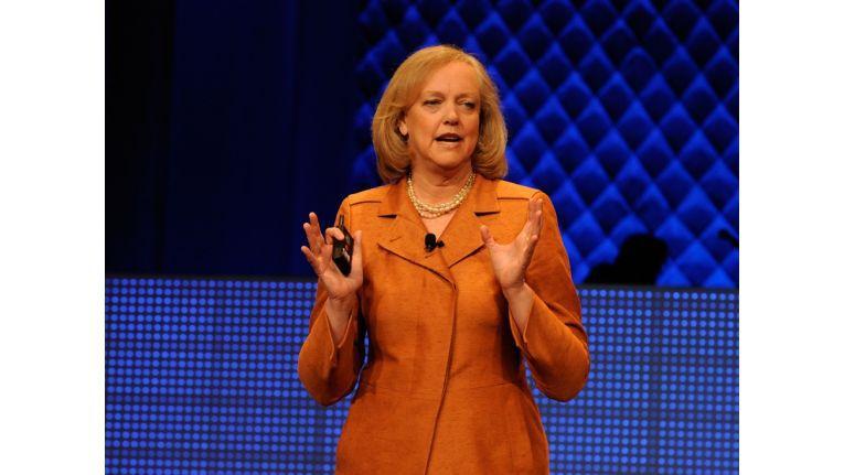 """""""Wir werden wieder ein verlässlicher Partner sein"""": Meg Whitman, CEO von Hewlett-Packard, entschuldigt sich für frühere Fehler."""