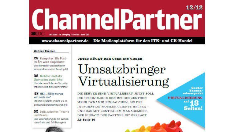 Titelseite der ChannelPartner-Ausgabe 12/12