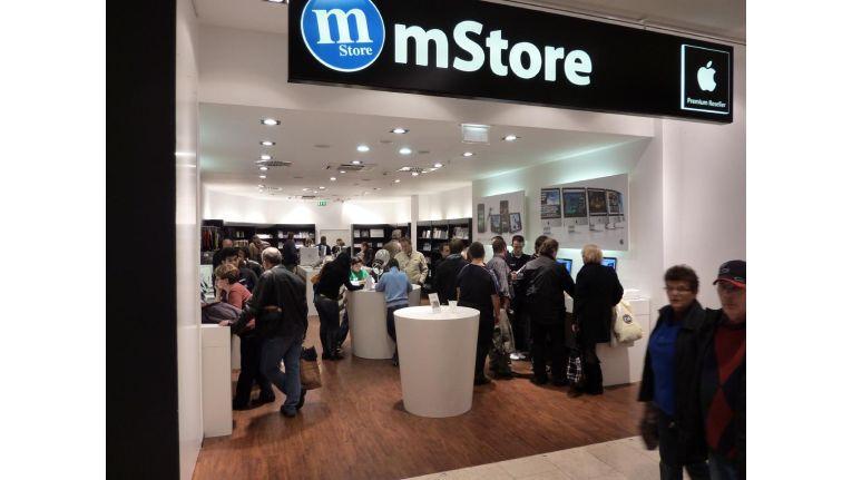 Die mStore-Filiale in Essen gehört zu den ersten vom Sanierungsverfahren der Kette betroffenen Standorten