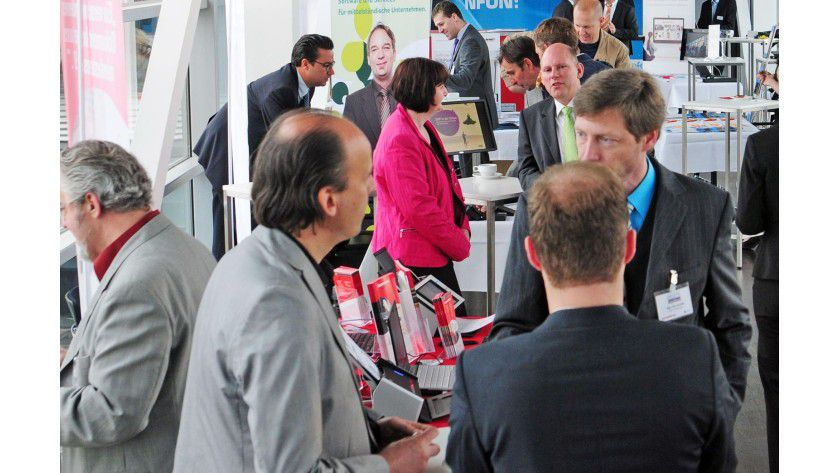 Partner auf dem Channel Sales Cloud Kongress, der im Mai in München stattfand.