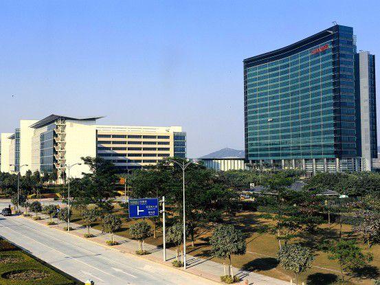 Huawei setzte 2012 umgerechnet über 35 Milliarden Dollar um.