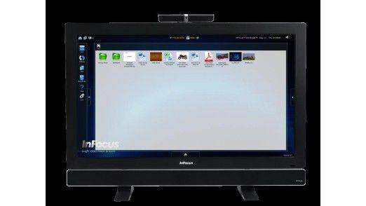 Das InFocus Mondopad unterstützt die Windows-8-Touch-Funktion.