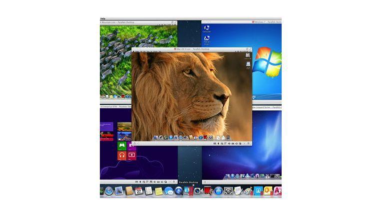 Update für Parallels Desktop 8 für Mac vereinigt Vorteile beider Betriebssysteme.