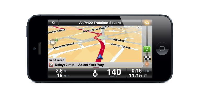 TomTom-Navigation auf dem iPhone 5