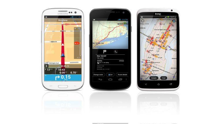 Jetzt auch auf großen Android-Phones lauffähig. Die neue Version der TomTom-App.
