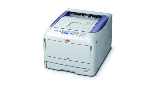 Wer fleißig Drucker der C822-Reihe vertreibt, bekommt von OKI Apple-Produkte als Prämie.