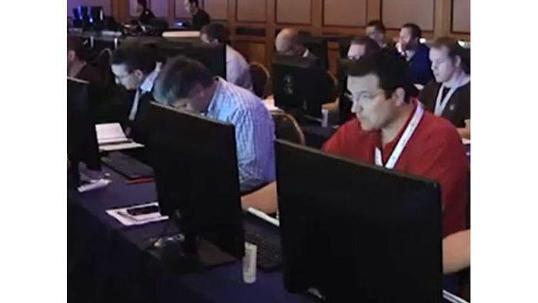 Microsoft-Partner beim Live-Test