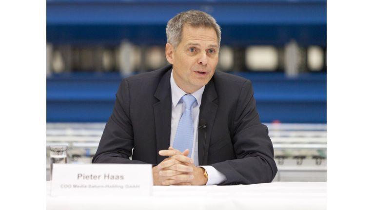 Weiter auf Erfolgskurs: Pieter Haas, seit Ende 2015 auch offiziell CEO von Media-Saturn