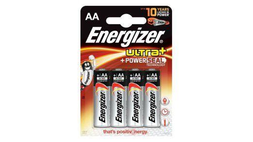 """Wenig Leistungsverlust bei langjähriger Lagerung: die """"Ultra+ PowerSeal""""-Batterien von Energizer"""