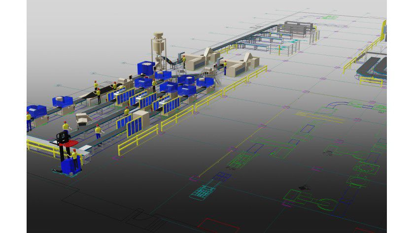 Die 'Factory Design Suite 2014' von Autodesk